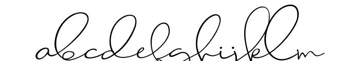 Jackson Regular Font LOWERCASE
