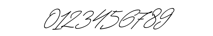 JacksonScript-Slant Font OTHER CHARS
