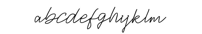 JacksonScript Font LOWERCASE