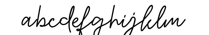 Jalliestha Font LOWERCASE