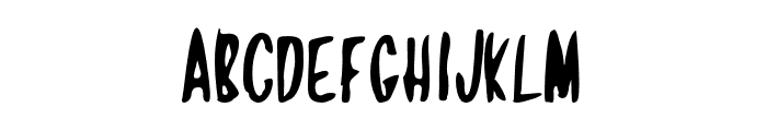 Jamaican Crow Font LOWERCASE