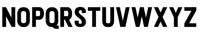 Janetta Rossie Sans Font UPPERCASE