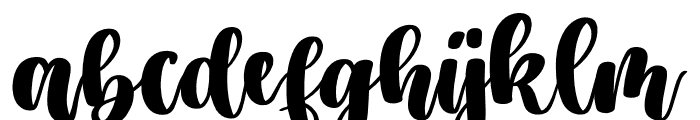 Jasmine Estella Font LOWERCASE