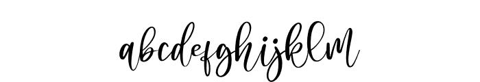 Jasmine Sheffield Font LOWERCASE