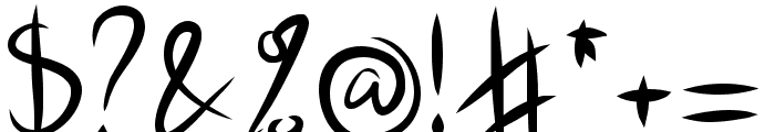 Jasper Kusack Font OTHER CHARS