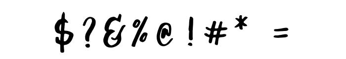 Jasper Font OTHER CHARS