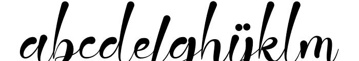 Jattestor Font LOWERCASE