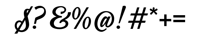 Jazzbury-Regular Font OTHER CHARS