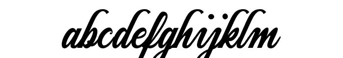 Jazzbury-Regular Font LOWERCASE