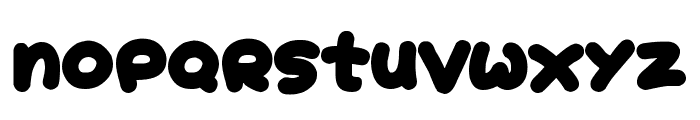 Jelly Donuts Font LOWERCASE