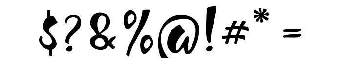 JellySugar Font OTHER CHARS
