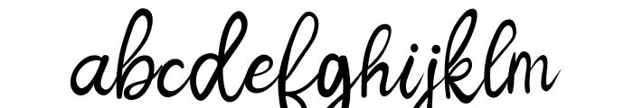 Jenilla Font LOWERCASE