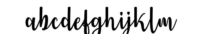 JenniferEllis Font LOWERCASE