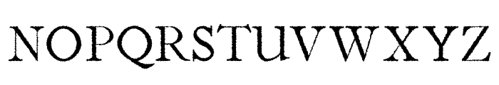 Jerricca Distorted Font UPPERCASE