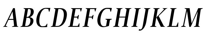 Jerrick Bold Italic Font UPPERCASE