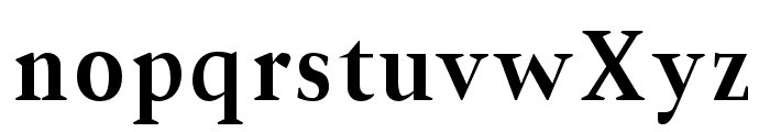 Jerrick-Bold Font LOWERCASE