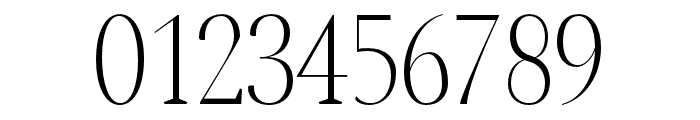 Jerrick-Light Font OTHER CHARS
