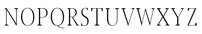 Jerrick-Light Font UPPERCASE