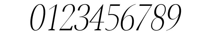 Jerrick-LightItalic Font OTHER CHARS