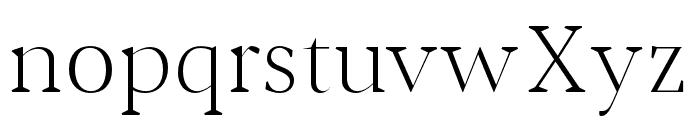 Jerrick-Light Font LOWERCASE