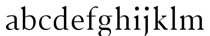 Jerrick Regular Font LOWERCASE