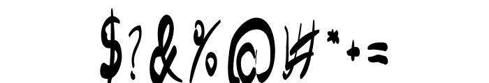 Jim Alistair Script Font OTHER CHARS