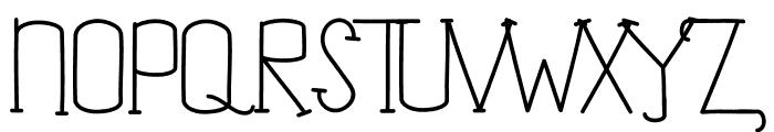 Jim Alistair Serif Font UPPERCASE