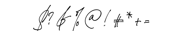 Jim Sintergate Font OTHER CHARS