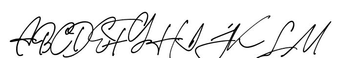 Jim Sintergate Font UPPERCASE