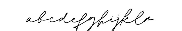 Jim Sintergate Font LOWERCASE