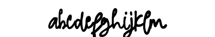 Jimmylaugh Font LOWERCASE
