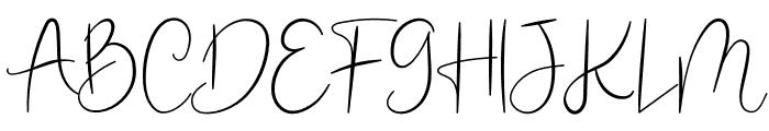 Jimuella Font UPPERCASE