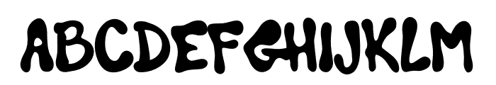 Jinxed To Wizard Font LOWERCASE