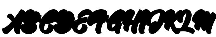 JodieGarlandExtrude Font UPPERCASE