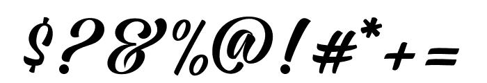 JodieGarlandRegular Font OTHER CHARS