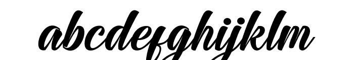 JodieGarlandRegular Font LOWERCASE