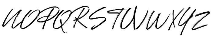 Johnson Rock Font UPPERCASE