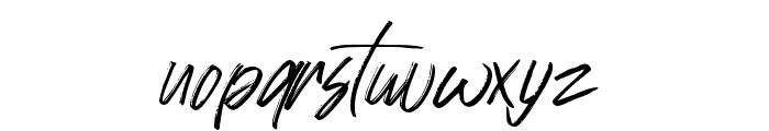 Johnson Rock Font LOWERCASE