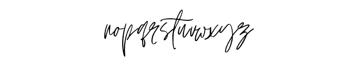 Jonathan-Regular Font LOWERCASE