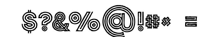Jordan Grunge Font OTHER CHARS