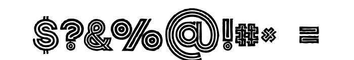 Jordan Medium Grunge Font OTHER CHARS