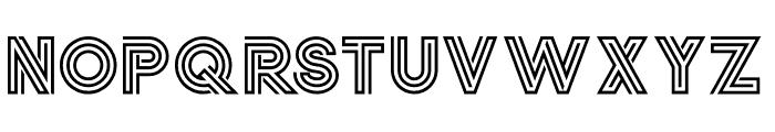 Jordan Regular Font UPPERCASE
