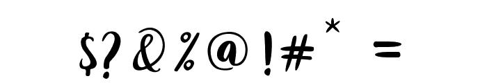 Joshan Font OTHER CHARS