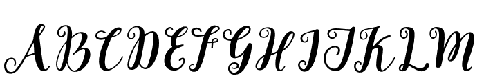 Joshan Font UPPERCASE