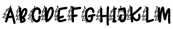 Joyeux Noel F3 Font UPPERCASE
