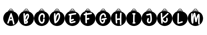 Joyeux Noel F3 Font LOWERCASE