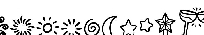 Joyfulness-Elements Font OTHER CHARS