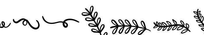 Joyfulness-Elements Font UPPERCASE