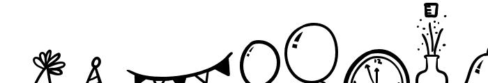 Joyfulness-Elements Font LOWERCASE