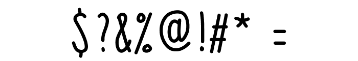 JuliaV2 Font OTHER CHARS